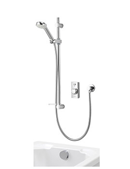 Aqualisa Visage Digital Divert Concealed Shower With Bath Fill - HP Combi