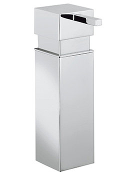 Crosswater Zest Chrome Finish Removable Soap Dispenser