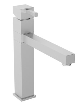 Abode Gino Single Lever Kitchen Tap - Stainless Steel