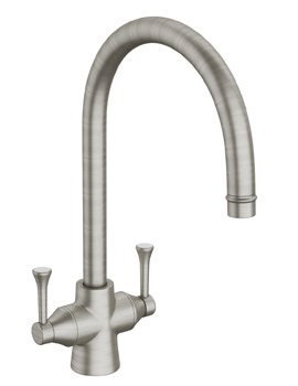 Abode Gosford Monobloc Kitchen Tap Brushed Nickel