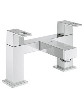 Grohe Eurocube Two-Handled Bath Filler Tap