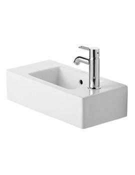 Duravit Vero White Alpin 500 x 250mm Handrise Washbasin