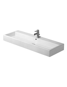 Duravit Vero White 1200 x 470mm 1 Tap Hole Washbasin