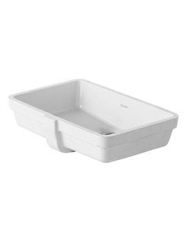 Duravit Vero White 485 x 315mm Grinded Vanity Washbasin