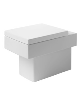 Duravit Vero White Alpin 370 x 570mm Floor Standing Toilet