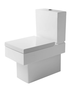Duravit Vero White Close Coupled Toilet And Cistern With Seat And Cover