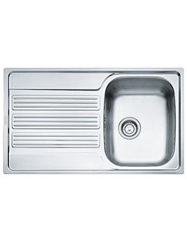 Franke Galileo GOX 611-86 Stainless Steel Kitchen Inset Sink