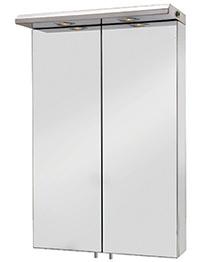 Croydex Colorado Double Door Large Illuminated Mirror Cabinet 500 x 770mm