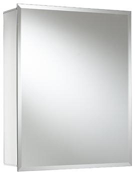 Croydex Winster Single Door Mirror Cabinet 405 x 510mm
