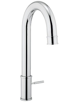 Crosswater Cucina KH Zero 5 Side Lever Kitchen Sink Mixer Tap