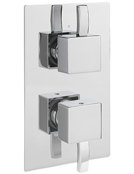 Sagittarius Arke Concealed Thermostatic Shower Valve With 2 Way Diverter