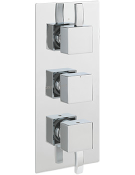 Sagittarius Arke Concealed Thermostatic Shower Valve With 3 Way Diverter