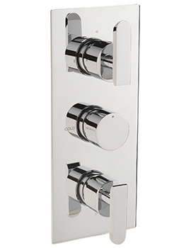 Sagittarius Eclipse Concealed Thermostatic Shower Valve With 3 Way Diverter