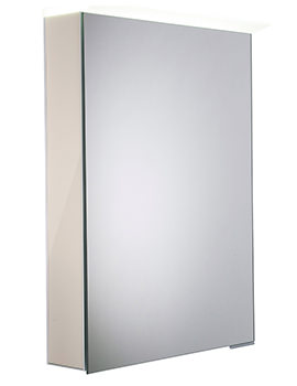 Roper Rhodes Virtue Gloss Calico LED Mirror Cabinet