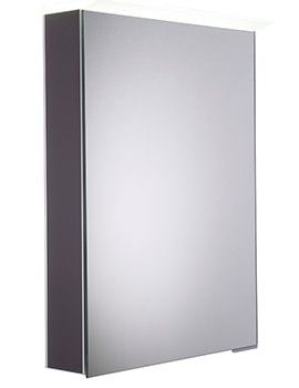 Roper Rhodes Virtue Matt Carbon LED Mirror Cabinet