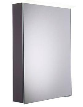 Roper Rhodes Virtue Matt Carbon LED Mirror Cabinet