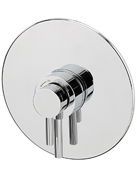 Sagittarius Ergo Concealed Thermostatic Shower Valve Round