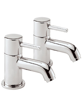 Sagittarius Ergo Pair Of Bath Taps