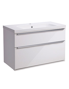 Roper Rhodes Scheme 800mm Wall Mounted Vanity Unit