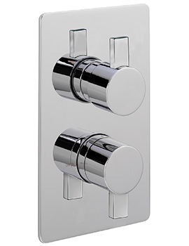 Sagittarius Evolution Concealed Thermostatic Valve With 2 Way Diverter