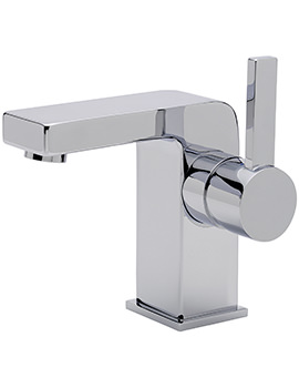 Sagittarius Evolution Fixed Spout Monobloc Basin Mixer Tap With Waste