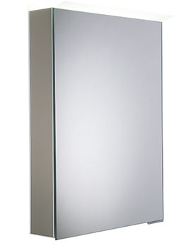Roper Rhodes Virtue Matt Light Clay LED Mirror Cabinet