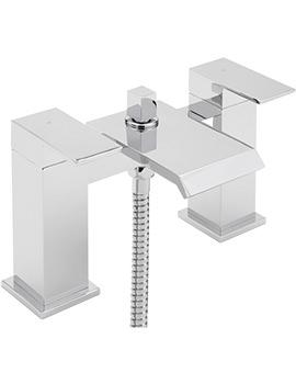 Sagittarius Dakota Deck Mounted Bath Shower Mixer Tap With No.1 Kit