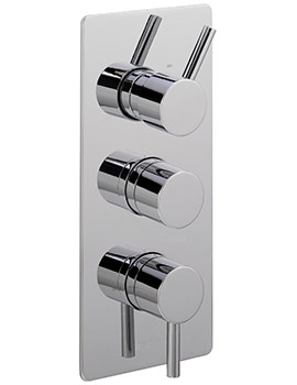 Sagittarius Ergo Concealed Thermostatic Shower Valve With 3 Way Diverter