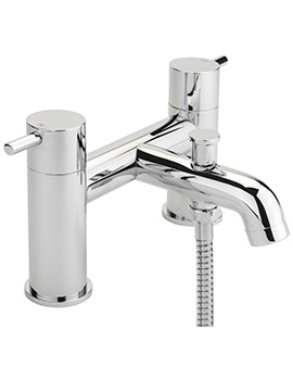 Sagittarius Ergo Deck Mounted Bath Shower Mixer Tap And No.1 Kit