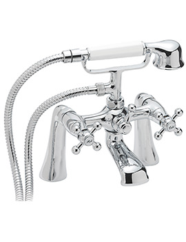 Sagittarius Fantasy Deck Mounted Bath Shower Mixer Tap With No.1 Kit
