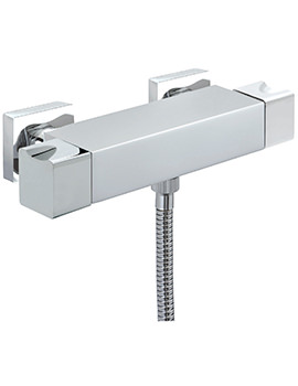 Sagittarius Matisse Exposed Thermostatic Bar Shower Valve