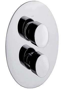 Sagittarius Oveta Concealed Thermostatic Shower Valve With 2 Way Diverter