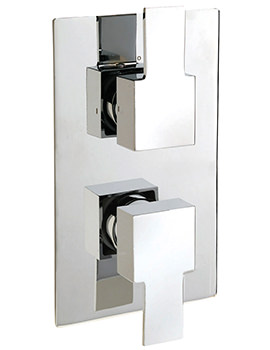 Sagittarius Navona Concealed Thermostatic Shower Valve With 2 Way Diverter