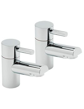 Sagittarius Piazza Pair Of Bath Taps