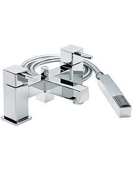 Sagittarius Pablo Deck Mounted Bath Shower Mixer Tap With No.1 Kit