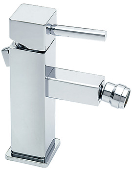 Sagittarius Pablo Monobloc Bidet Mixer Tap With Pop-Up Rod Waste