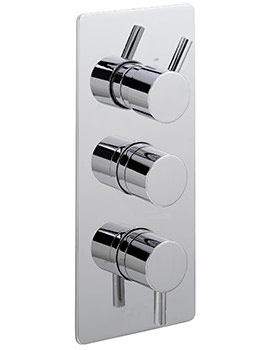 Sagittarius Piazza Concealed Thermostatic Shower Valve With 3 Way Diverter