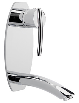 Sagittarius Pure Wall Mounted Bath Filler Tap