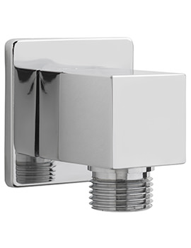 Sagittarius Cube Wall Mounted Shower Outlet