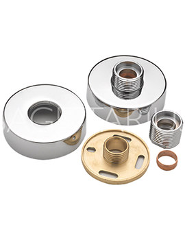 Sagittarius Round Easy Fit Kit For Exposed Shower Valve