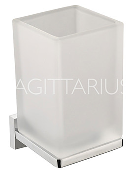Sagittarius Madison Tumbler And Wall Mounted Holder