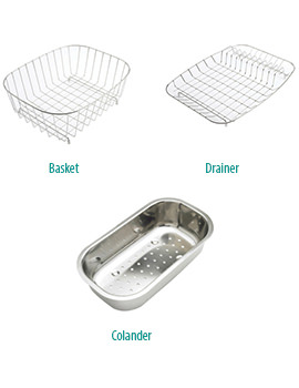 Astracast Accessory Pack For Topaz And Alto 1.5 Bowl Kitchen Sink