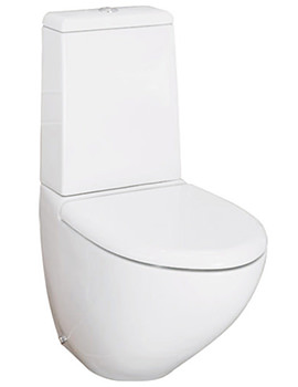 RAK Reserva Close Coupled WC Pan And Dual Flush Cistern 640mm