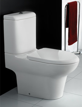 RAK Infinity Close Coupled Full Access WC Pan With Cistern And Seat 695mm