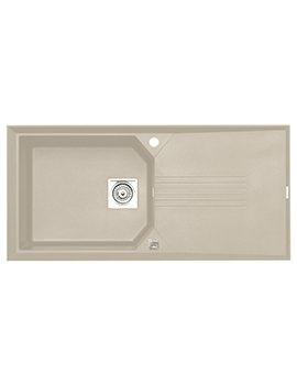Astracast Helix ROK Granite Sahara Beige Inset Sink - 1.0 Bowl