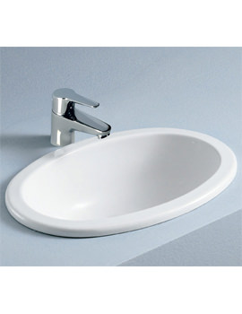 RAK Lily 465mm Over-Counter Inset Vanity Bowl