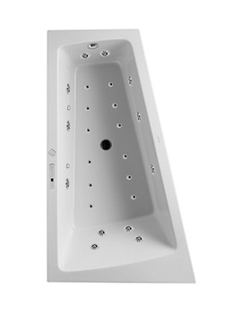 Duravit Paiova 1700mm Corner Left Bath With Panel And Combi-System E