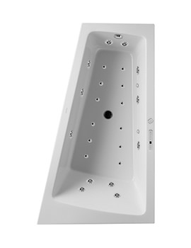 Duravit Paiova 1700mm Corner Right Bath With Panel And Combi-System E