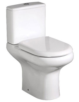 RAK Compact Deluxe Close Coupled Full Access Open Back WC Pack 625mm