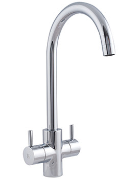 Astracast Shannon Monobloc Twin Lever Kitchen Sink Mixer Tap